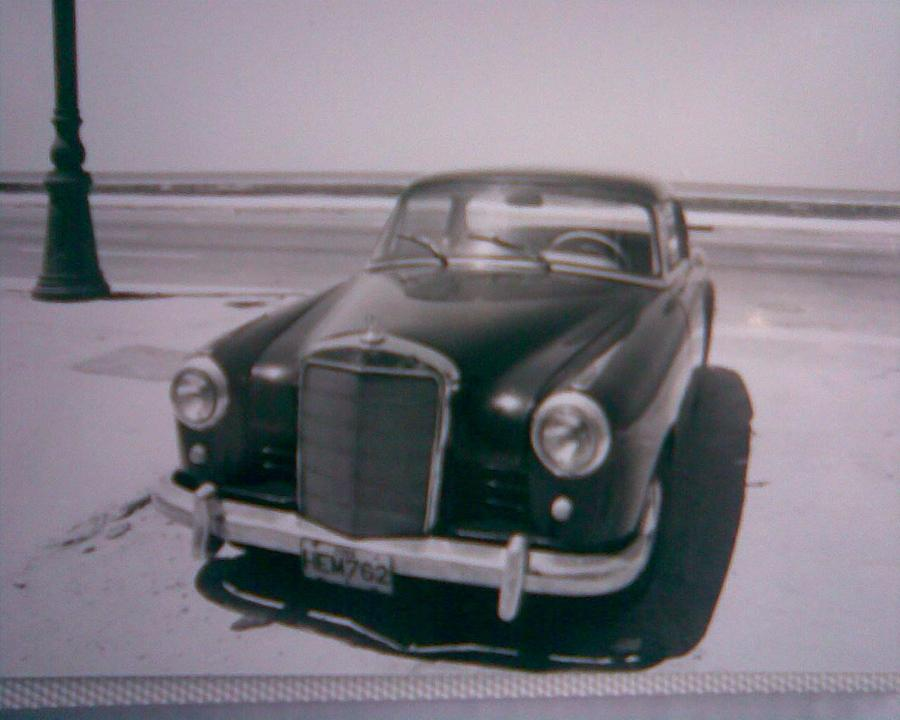 Benz 1950 Photograph by Rosario Triglia
