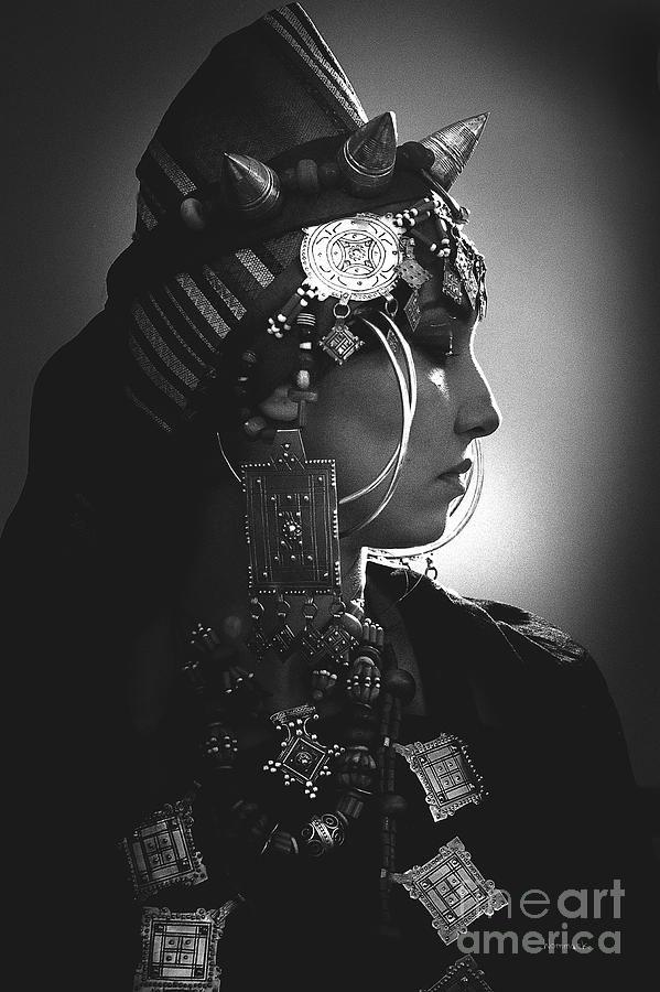 Black And White Photograph - Berber Portrait by Jonathan Wommack