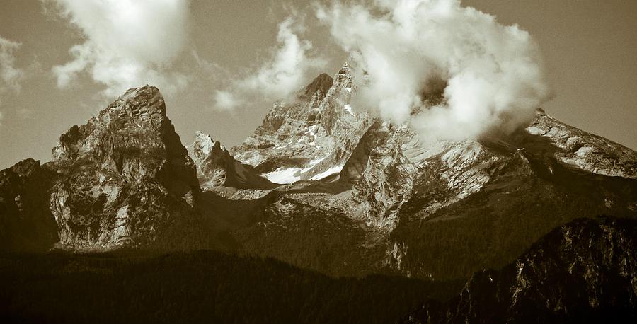 Berchtesgaden Photograph - Berchtesgaden Mountains by Frank Tschakert