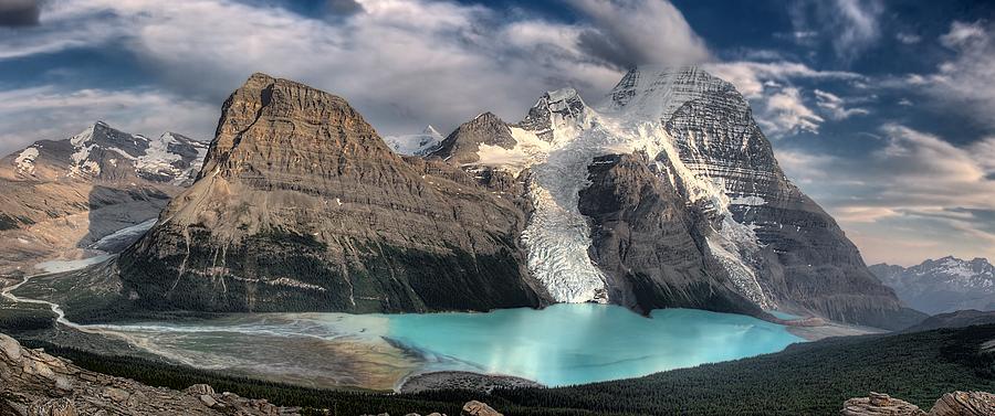Berg Lake Photograph - Berg Lake, Mount Robson Provincial Park by Clarke Wiebe