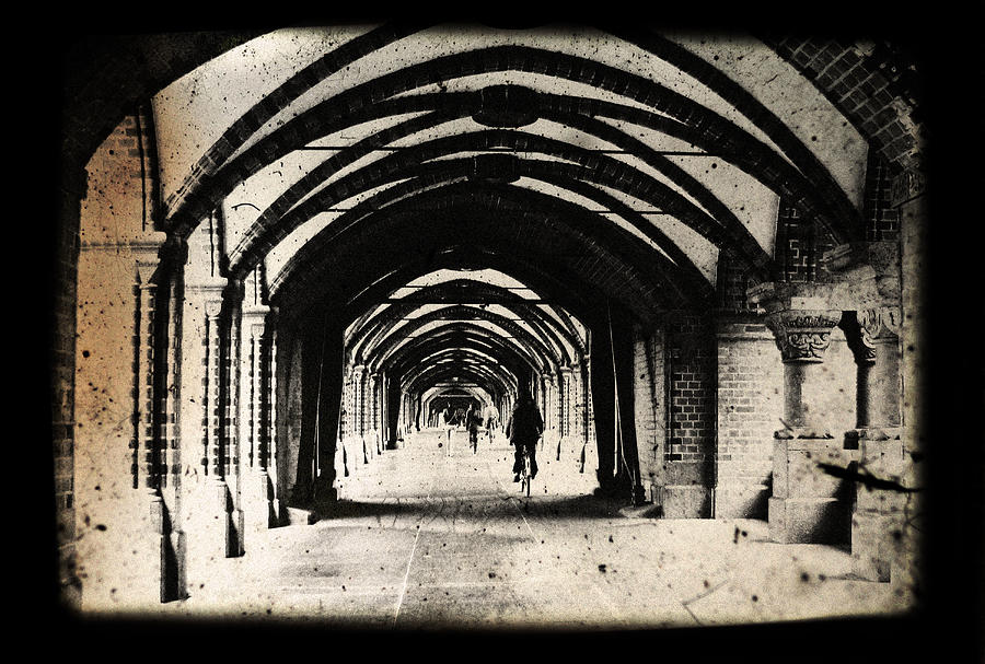 Alter Photograph - Berlin Arches by Andrew Paranavitana