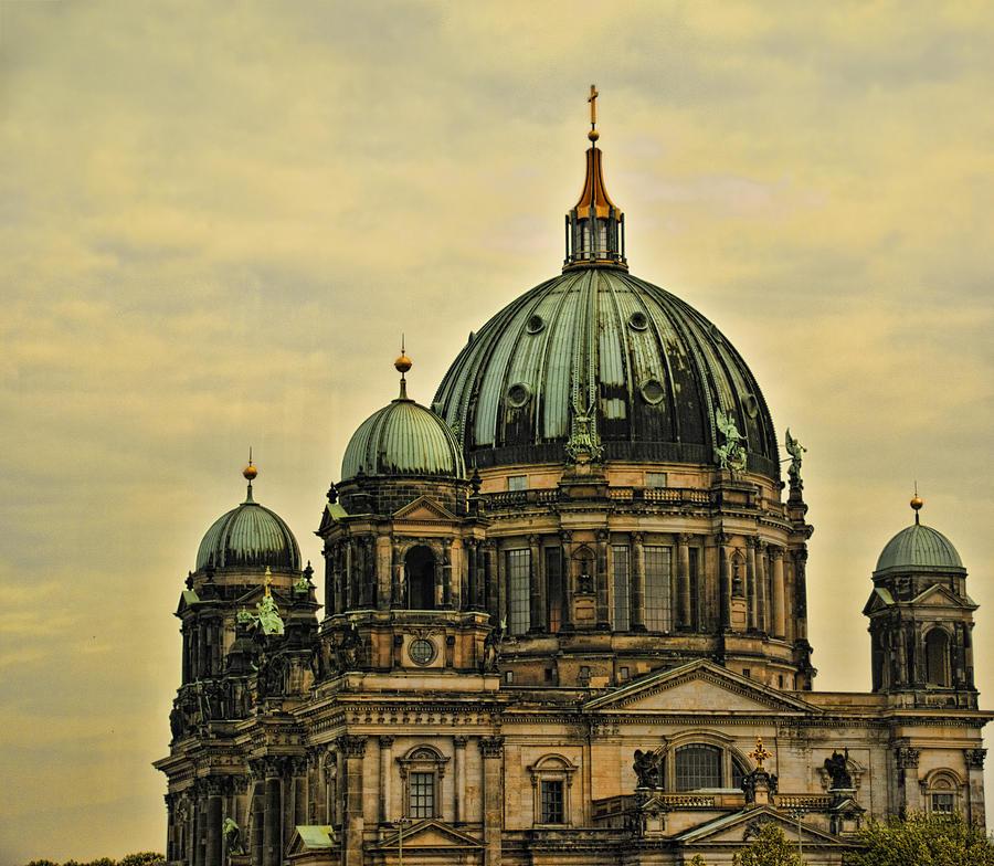 Berlin Photograph - Berlin Architecture by Jon Berghoff