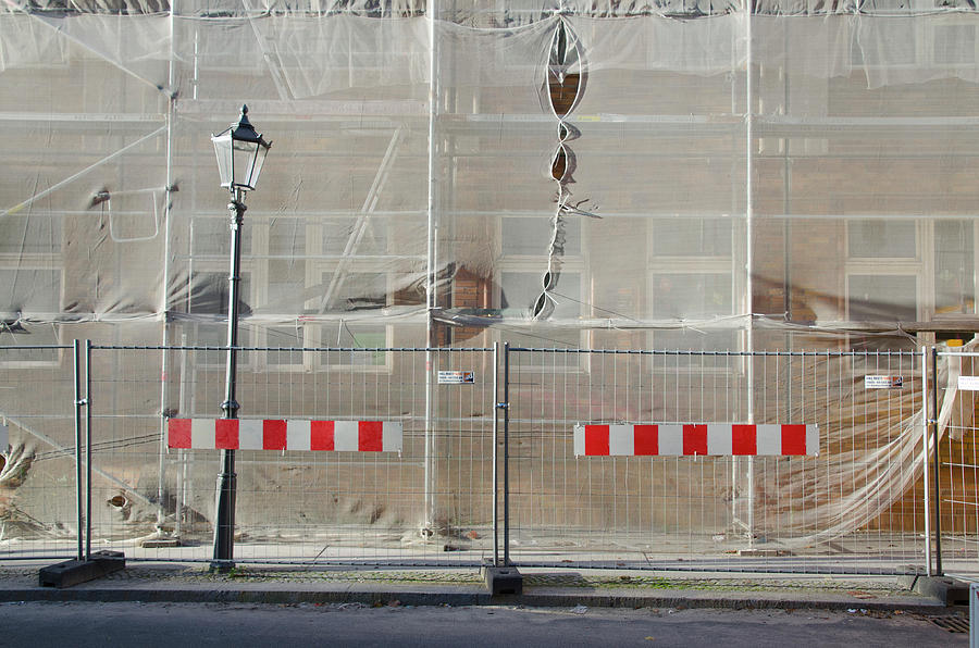 Berlin Construction by Erik Burg