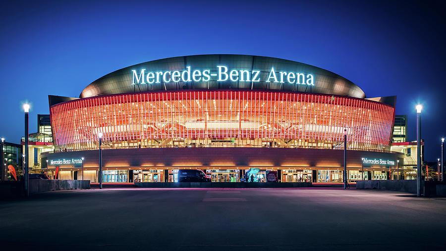 Berlin Photograph - Berlin - Mercedes-benz Arena by Alexander Voss