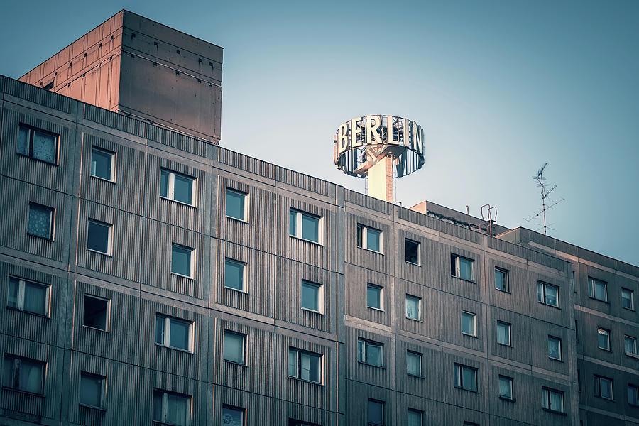 Berlin Photograph - Berlin - Plattenbau by Alexander Voss