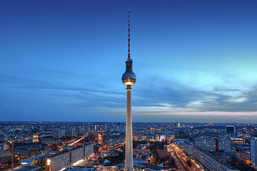 Berlin Television Tower by Marc Huebner