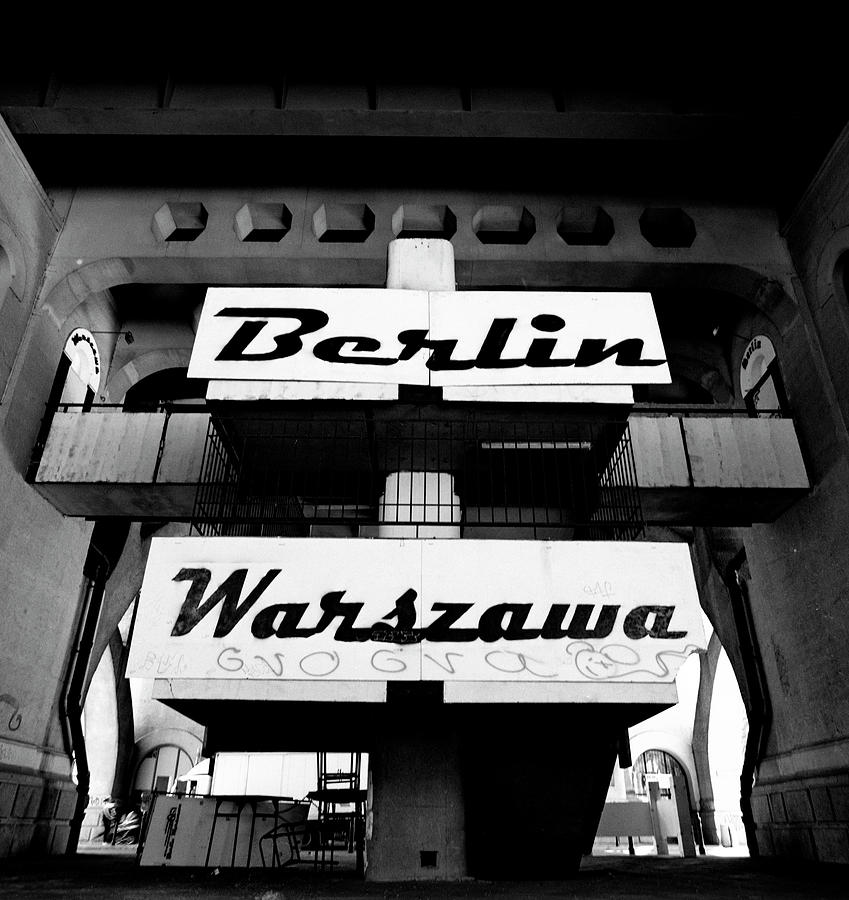 Berlin Photograph - Berlin To Warsaw Frame 1  by Derek Moore