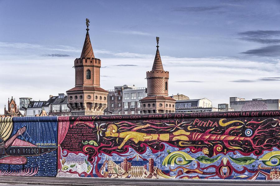 Berlin Wall Photograph - Berlin Wall by Juergen Held