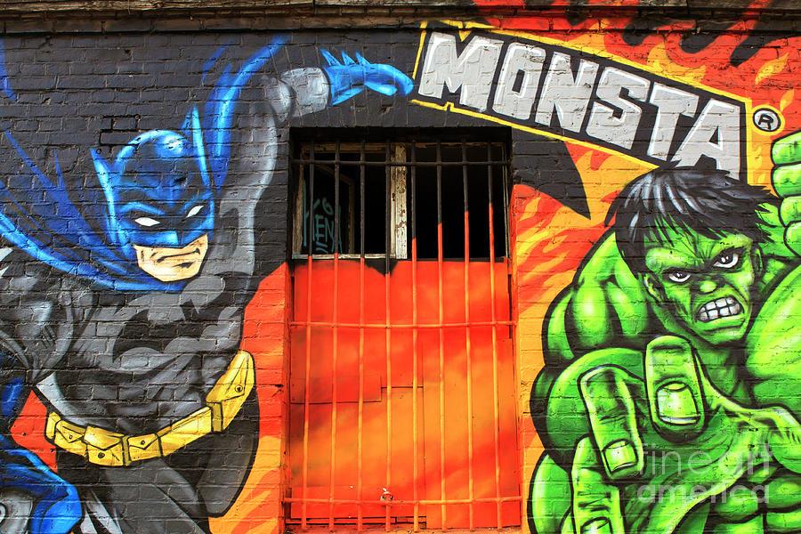 Door Photograph - Berlin Wall Monsta Door by John Rizzuto
