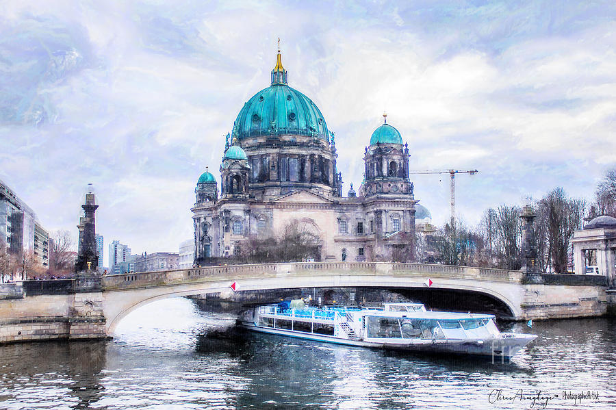 Berlin Painting - Berliner Dom by Chris Armytage