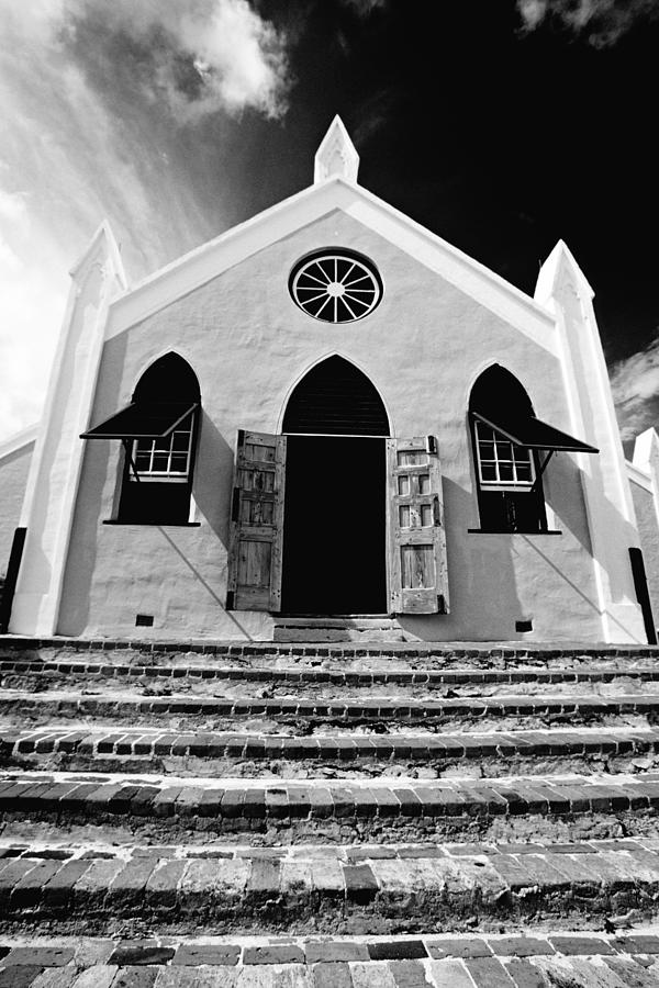 Church Photograph - Bermuda Church by George Oze
