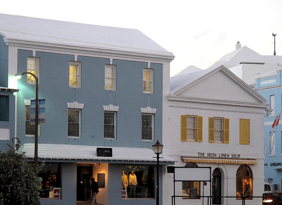 Bermuda Photograph - Bermuda Front Street Two by Ian  MacDonald