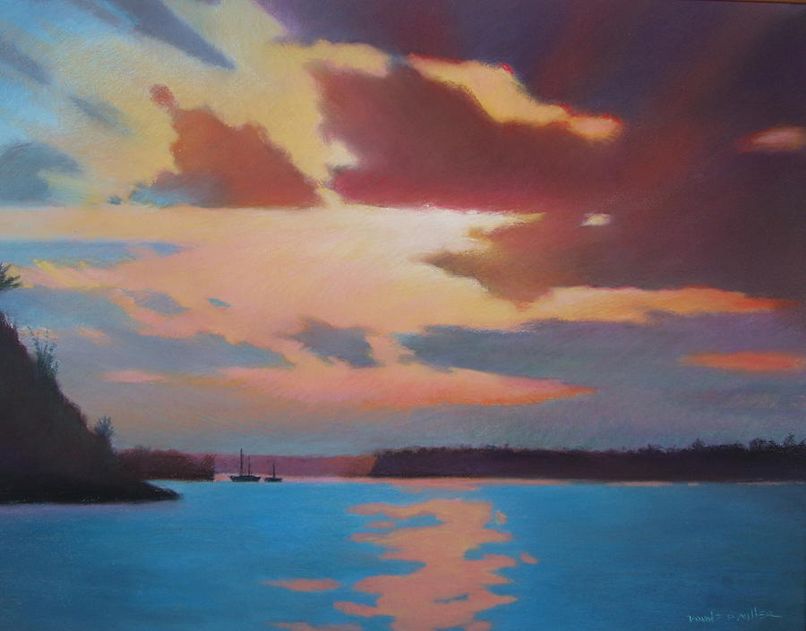 Bermuda Sunset Painting by Dianne Panarelli Miller