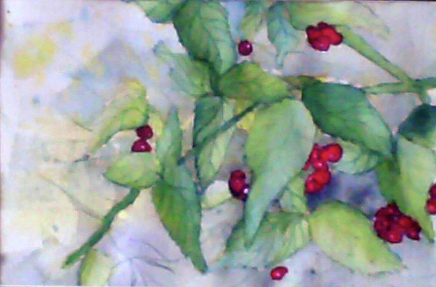 Berries Painting - Berries by Caleb Snodgrass