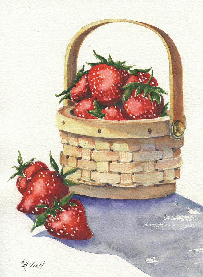 Berry Painting - Berry Nice by Marsha Elliott