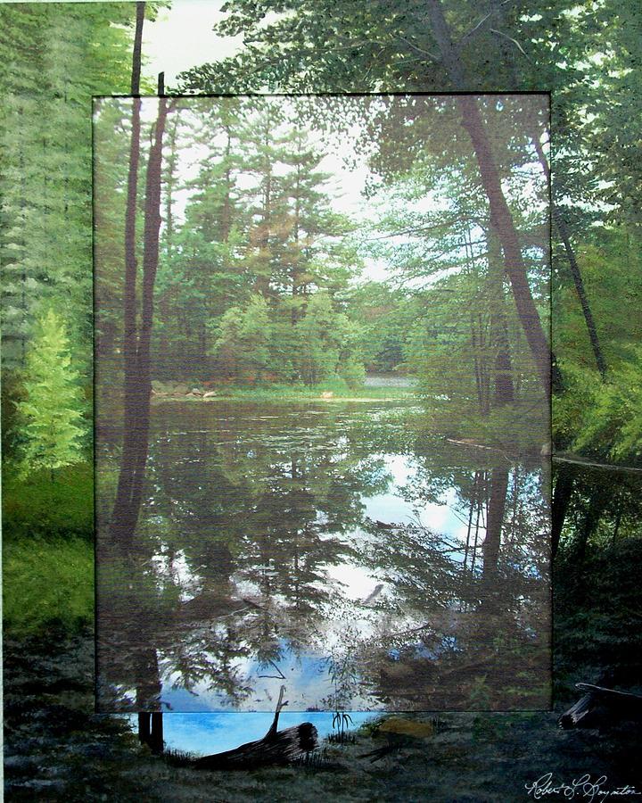 Still Water Photograph - Beside the Still Water by Robert Boynton