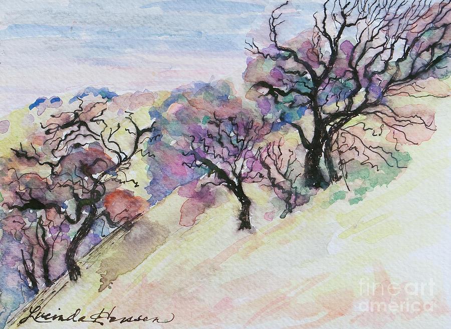 Landscape Painting - Best Day Ever by Lucinda  Hansen
