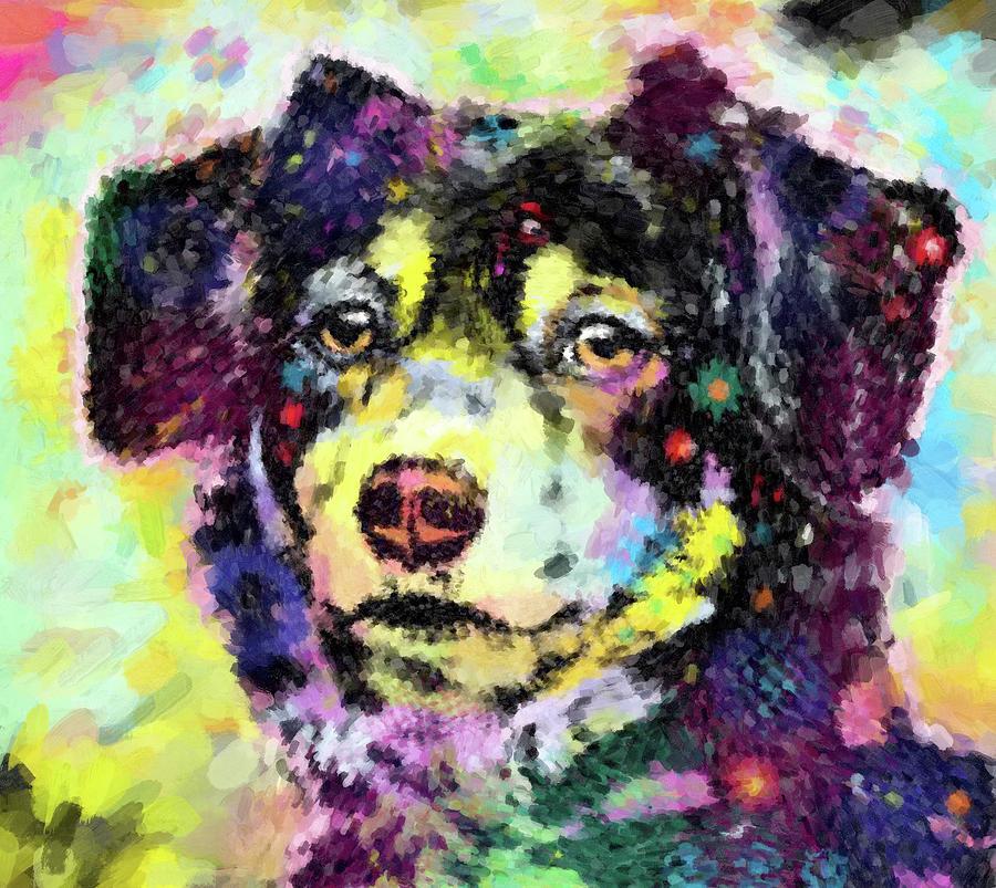 Portrait Painting - Best Friend by Gary Grayson