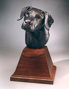 Domestic Animal Sculpture - Best Friend by Mary Driscoll