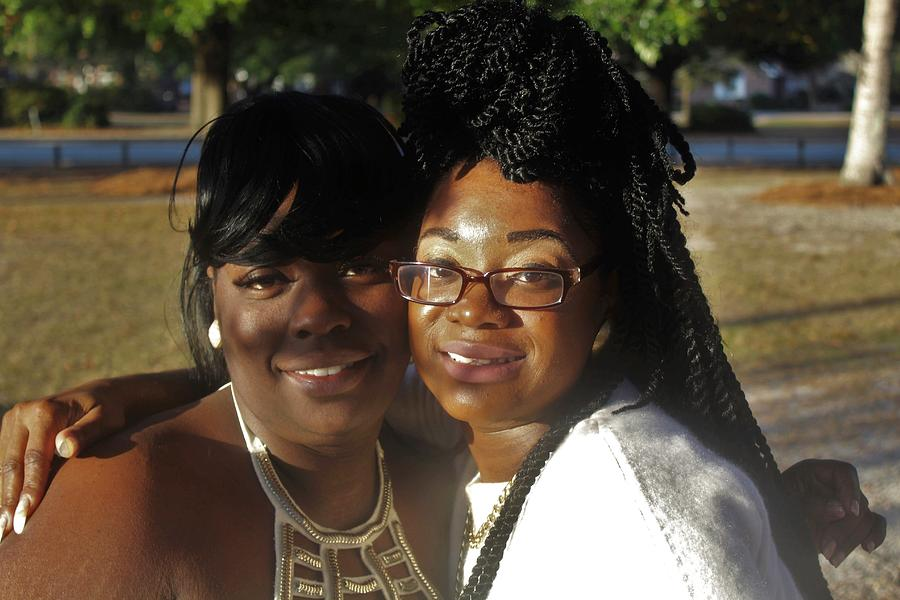 Ebony Photograph - Best Friends 2  by Christopher White