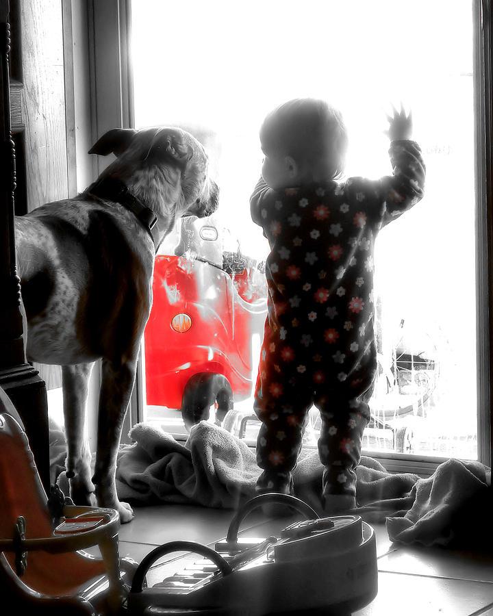 Kids Photograph - Best Friends by PaTer Customs