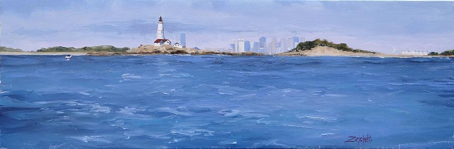 Boston Painting - Best Of Boston by Laura Lee Zanghetti