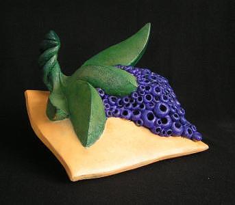 Fruit Sculpture - Best Of Show by Lili Vanderlaan