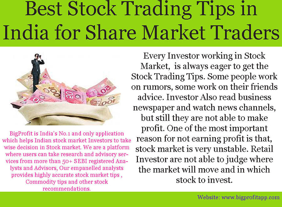 Best Stock Trading Tips In India For Share Market Traders by Joya Gupta