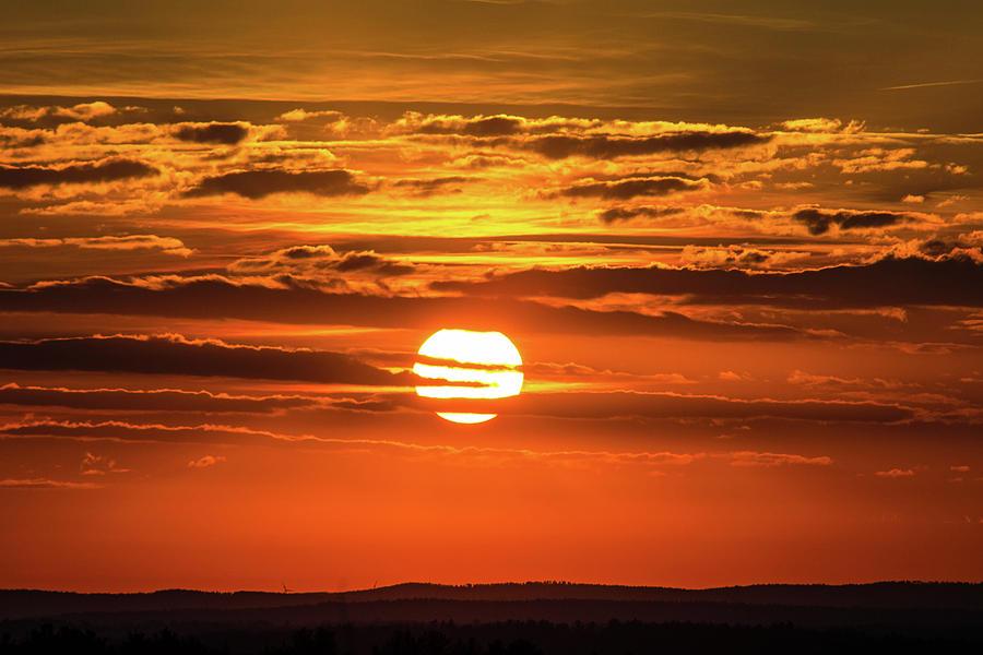 Best Sunset Ever Photograph by Kenneth Bourassa