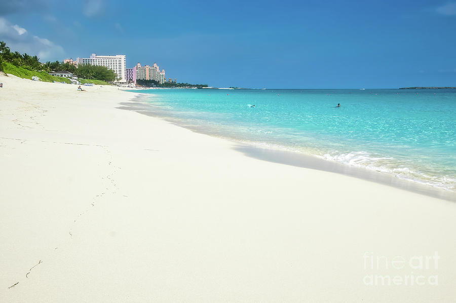 Best White Beach In Caribbean Paradise Island Bahamas Caribbean Beach Bahamas Sea Beach With W