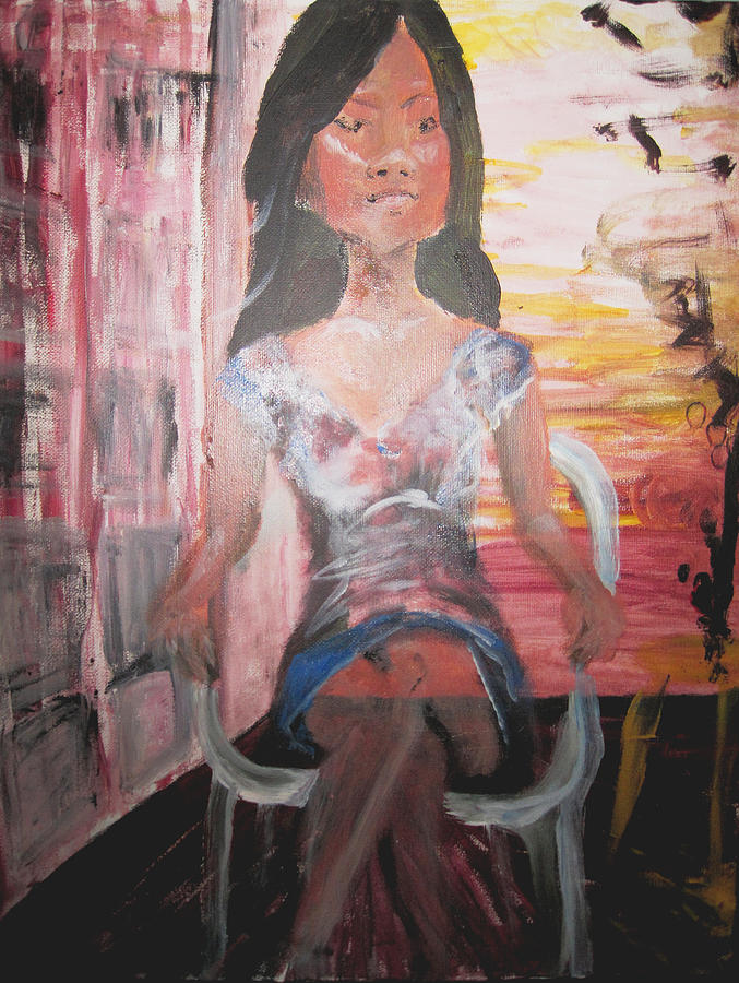 Asian Women Painting - Bethany Future by Penfield Hondros
