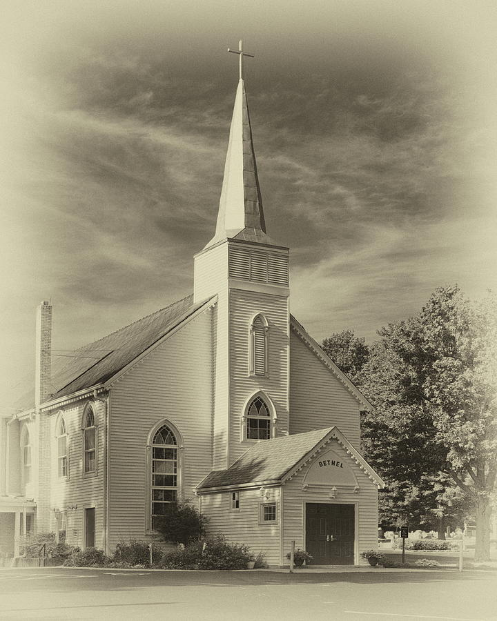 Bethel UMC Church by Harold Rau