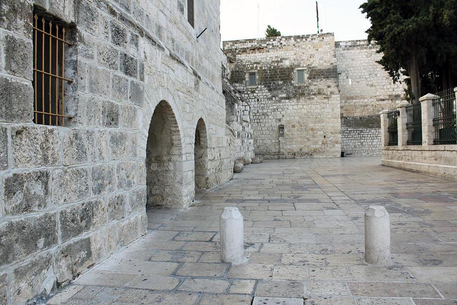 Bethlehem Photograph - Bethlehem - Manger Square by Munir Alawi