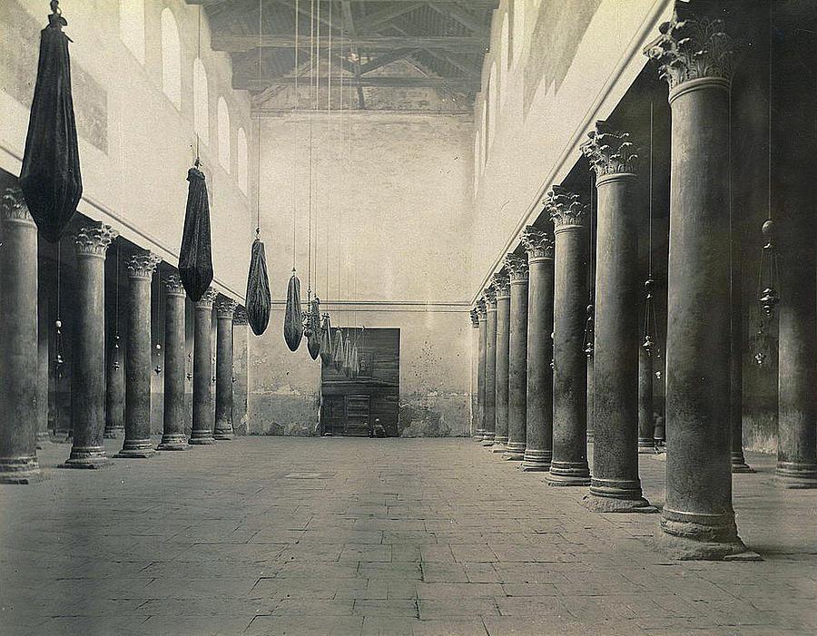 Bethlehem Photograph - Bethlehem - Nativity Church Year 1867 by Munir Alawi