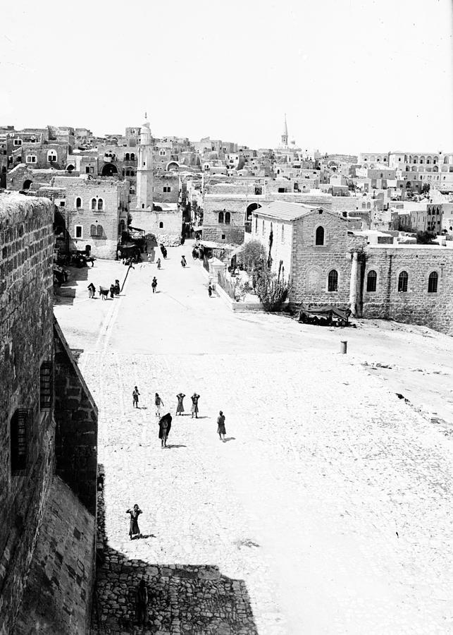 Bethlehem Photograph - Bethlehem 1889s by Munir Alawi