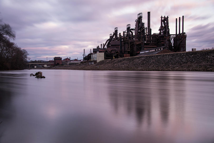 Bethlehem Steel Sunset by Jennifer Ancker