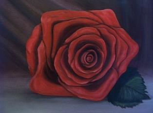 Floral Painting - Beths Rose by Pat  Corbett
