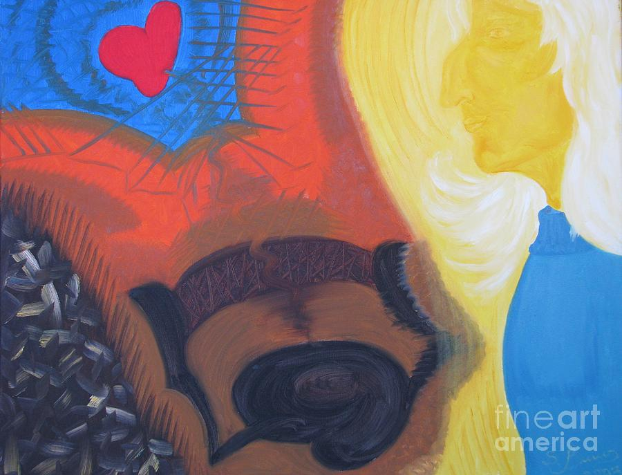 Oil Painting Painting - Betrayal by Svetlana Vinokurtsev
