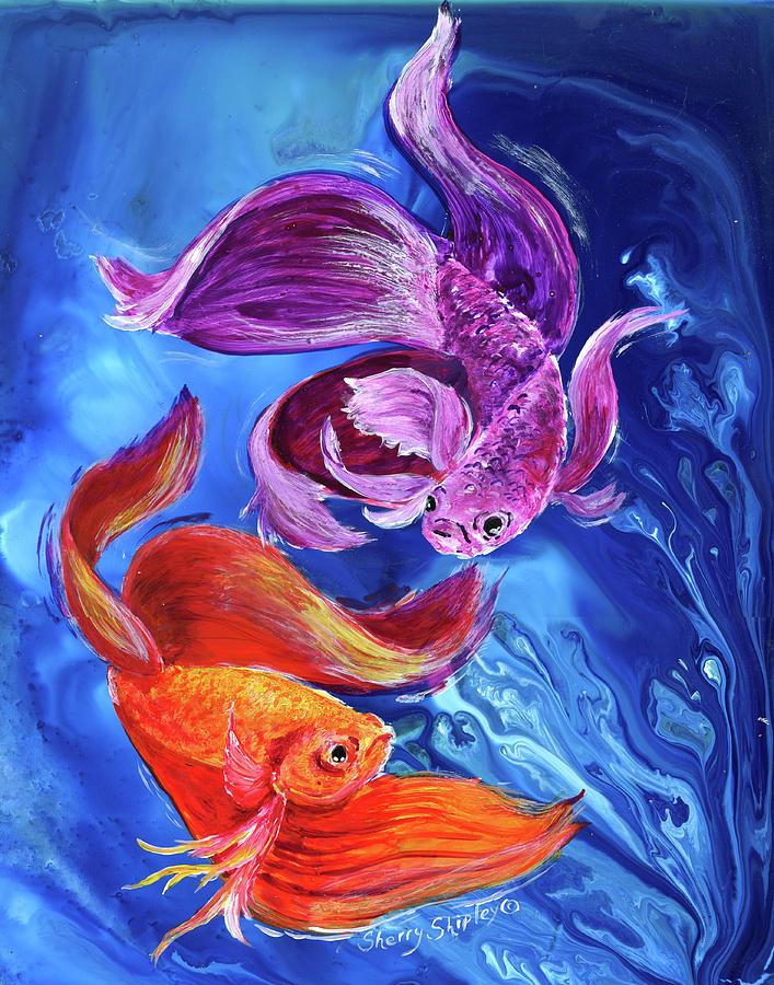 синие золотые рыбки картинки другие биологически-активные вещества