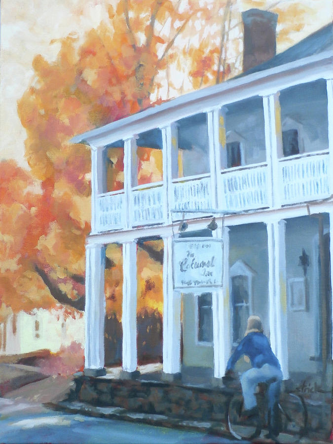 Historic Painting - Better Days by Carol Strickland