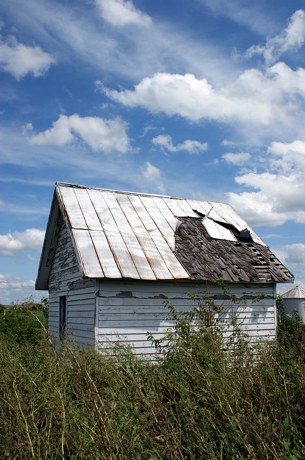 Shed Photograph - Better Days by Off The Beaten Path Photography - Andrew Alexander