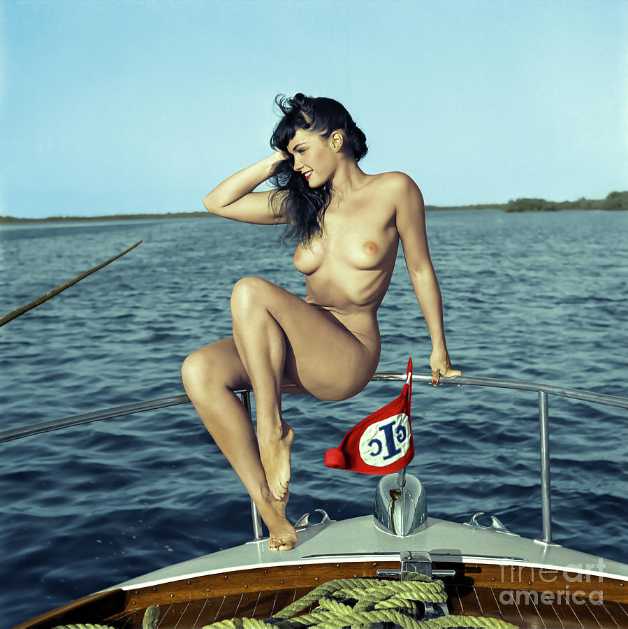 Bettie Page Colorized by Franchi Torres