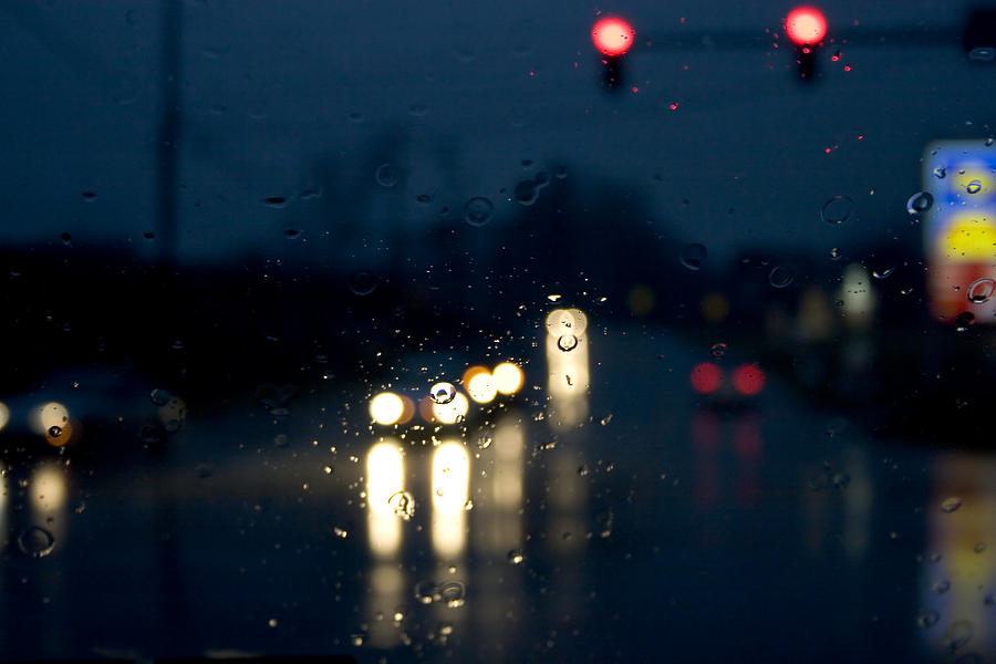 Rain Photograph - Between by Kevin Brett