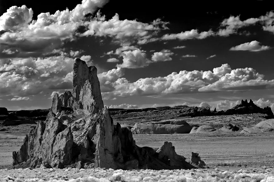 Monument Valley Photograph - Between Monument Valley And Heaven  by Paul Basile