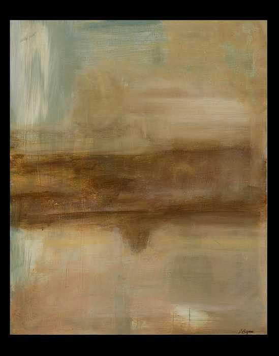 Abstract Painting - Between Silence by Patricia Byron