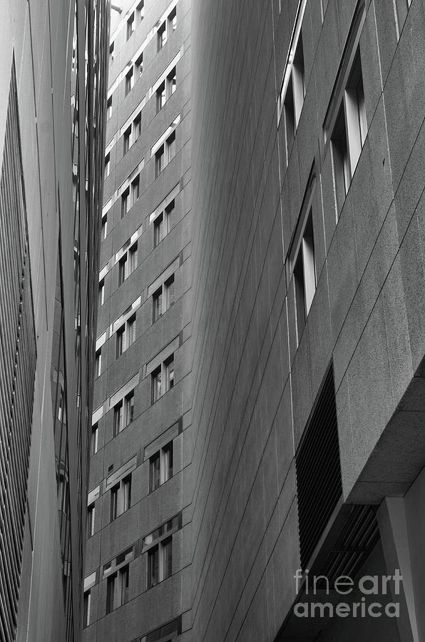 Between The Buildings Photograph