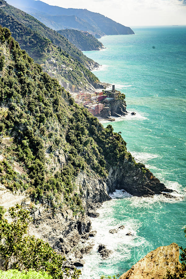 Between the villages of Cinque Terre, Italy by Global Light Photography - Nicole Leffer