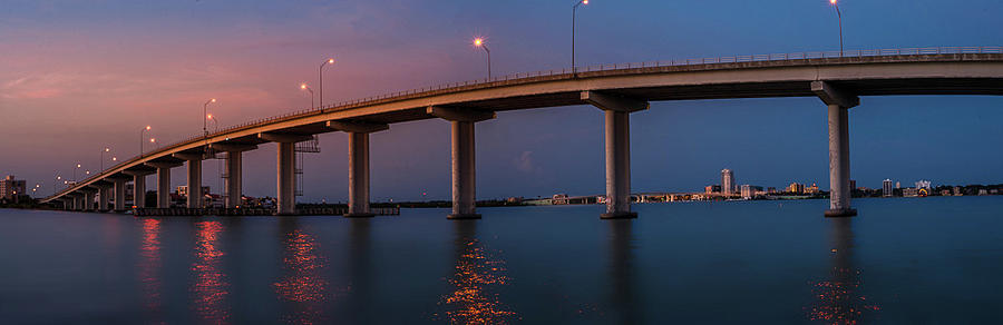 Clearwater Beach Photograph - Between Two Worlds by Todd Rogers