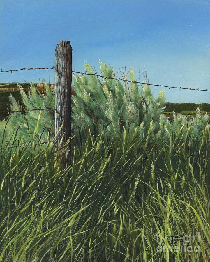 Between you, me and the Fence Post by Rosellen Westerhoff