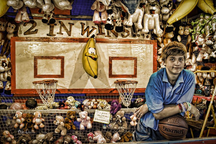 Carnival Photograph - Beware The Smiling Banana  by Bob Orsillo